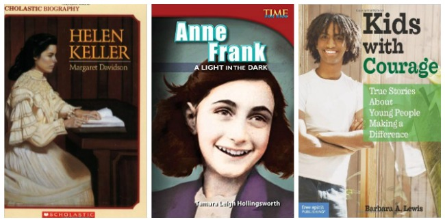 Historical biographies for kids; inspiring kids at Castle View Academy