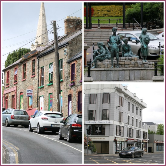 Letterkenny, Co. Donegal, Ireland for a spot of shopping with Castle View Academy on The Wild Atlantic Way