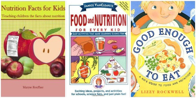 Nutrition books for kids with Castle View Academy