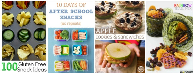 Rainbow snacks, healthy snacks, at Castle View Academy