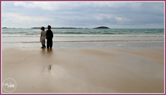 Rosguill Peninsula beach in Co. Donegal, Ireland on The Wild Atlantic Way with Castle View Academy