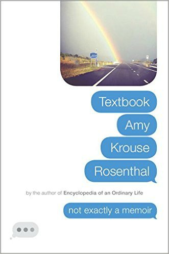 Textbook Amy Krouse Rosenthal, a review by Castle View Academy