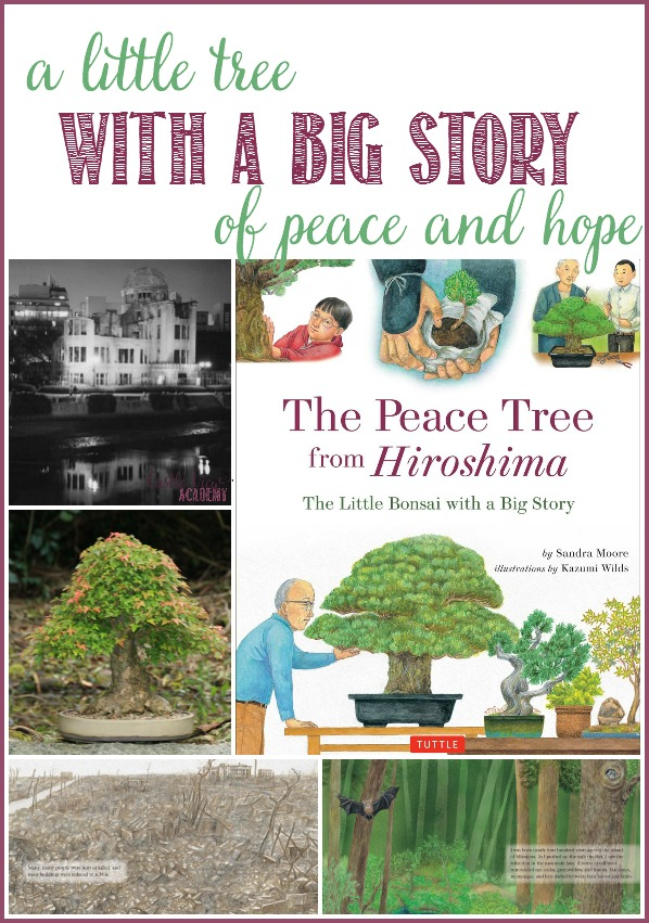 The Peace Tree from Hiroshima, a little tree with a big story of peace and hope, a review by Castle View Academy