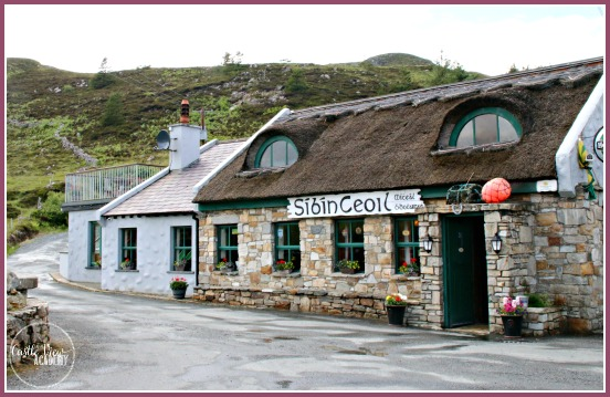 The Singing Pub on Rosguill Peninsula on the Wild Atlantic Way of Co. Donegal, Ireland with Castle View Academy