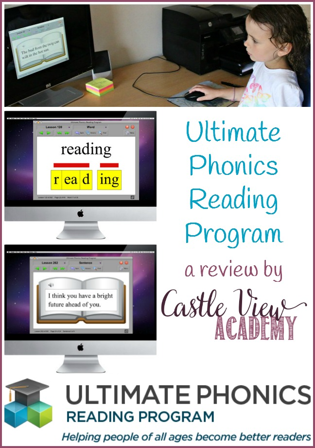 A review by Castle View Academy of the Ultimate Phonics App Reading Program
