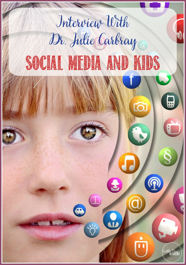 An interview with Dr. Julie Carbray for Castle View Academy - Social Media and Kids - Mental health and Bullying