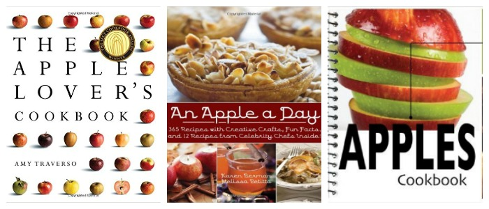 Apple cookbooks at Castle View Aademy