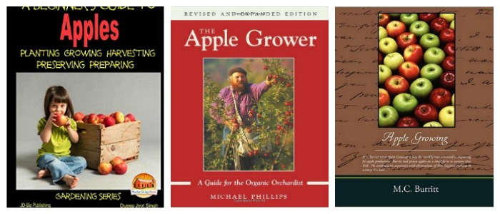 Books about growing apples at Castle View Academy