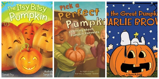 childrens-pumpkin-books-at-castle-view-academy