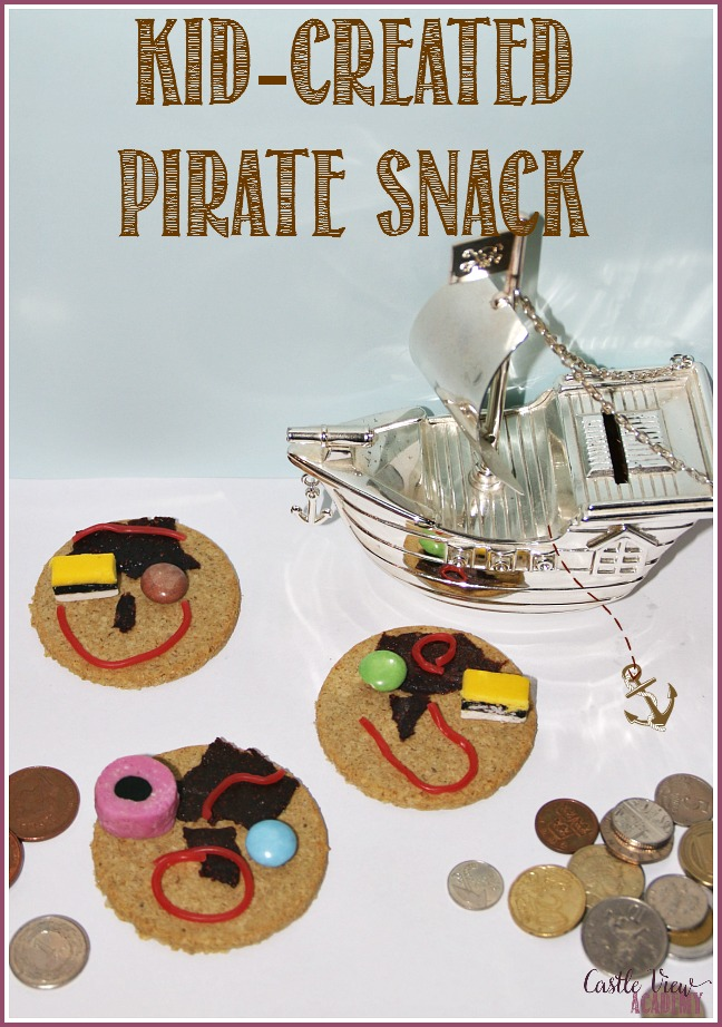 kid-created-pirate-snack-at-castle-view-academy
