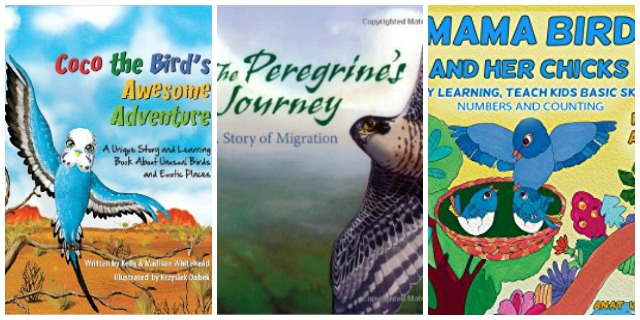 kids story books about birds at Castle View Academy