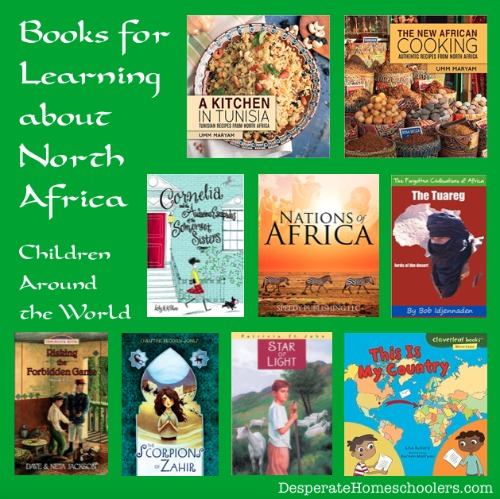 Learning-about-North-Africa-with-books