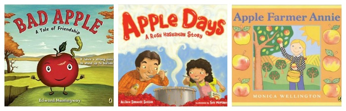 Picture books about apples at Castle View Academy