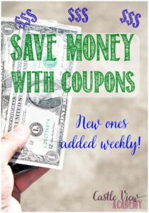 Save money with coupons at Castle View Academy