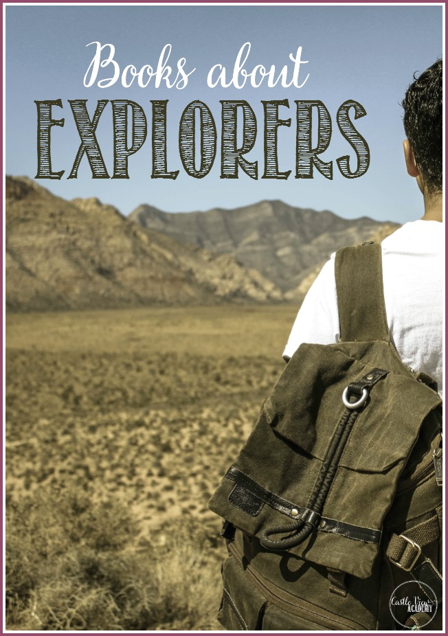 Books about great explorers on earth and beyond at Castle View Academy