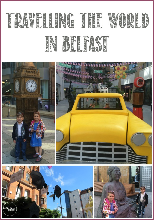 Castle View Academy travels the world in Belfast