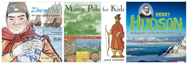 Great explorer books for kids at Castle View Academy