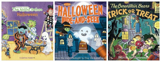 Halloween books for kids at Castle View Academy