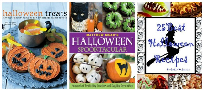Halloween craft books at Castle View Academy