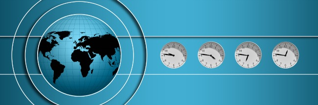 Learning about time zones is a necessity for homeshooled expat kids