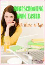 11 Ways To Make Homeschooling Easier