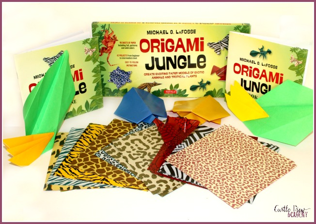 Castle View Academy homeschool reviews Origami Jungle by Tuttle Publishing