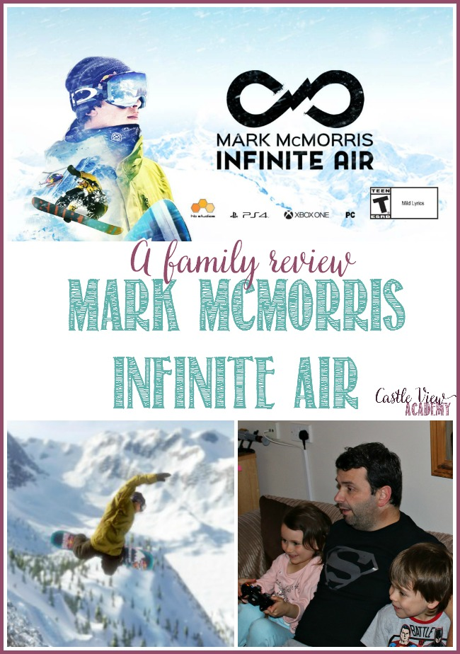 Castle View Academy reviews Mark McMorris Infinite Air
