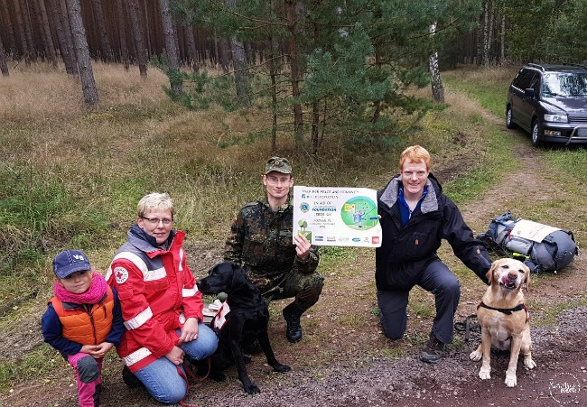 Leeds To Poznan walk to for disaster relief and humanitarian aid
