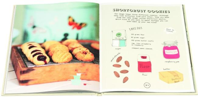 Let's Bake Shortbread Cookie with Little Gestalten and Castle View Academy homeschool