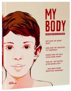 My Body by Little Gestalten and reiewed by Castle View Academy homeschool