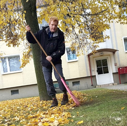 Raking leaves to help others is an easy way to make the world a better place