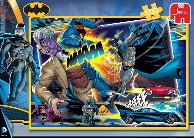 Batman 100pc Jigsaw Puzzle by Jumbo and recommended by Castle View Academy homeschool