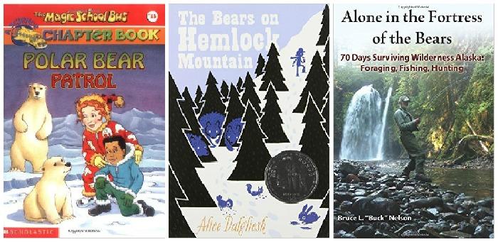 Bear books at Castle View Academy homeschool