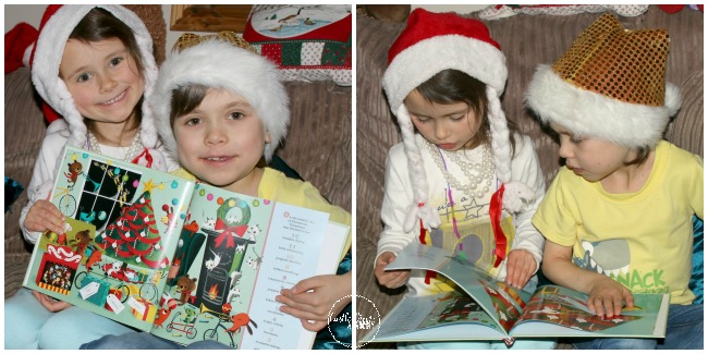 Castle View Academy homeschool is enjoying a personilized Christmas book