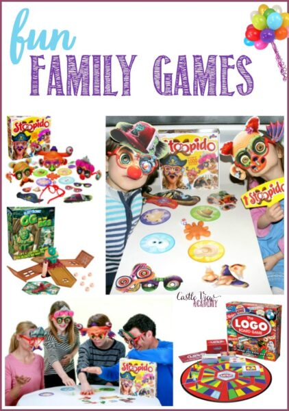 Fun family games at Castle View Academy homeschool