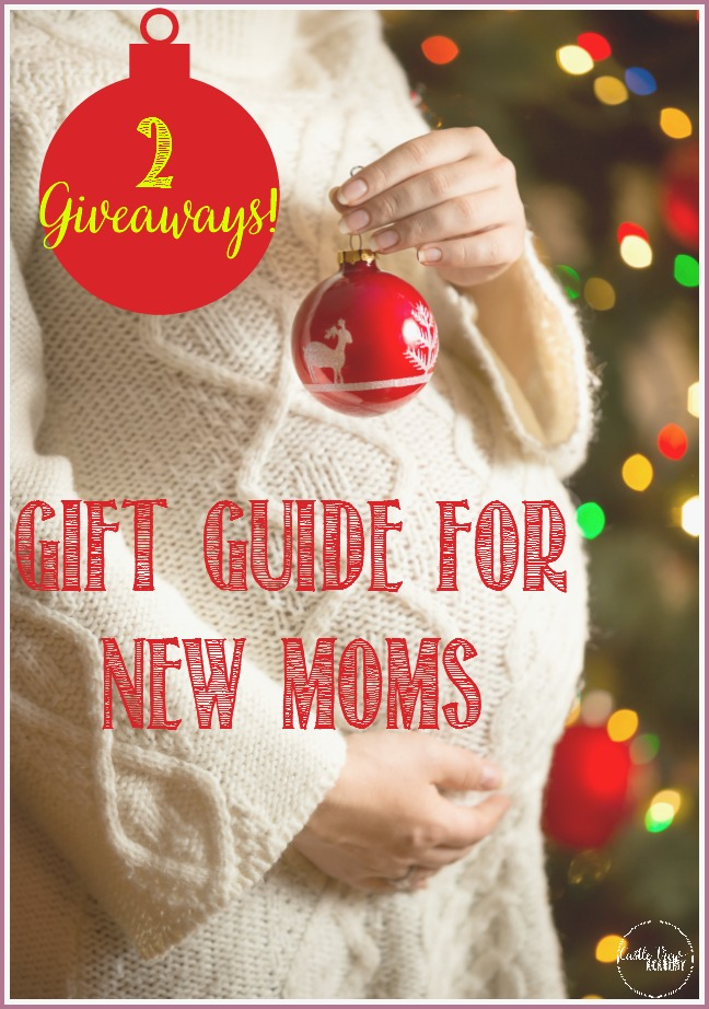 Holiday gift guide for new Moms withi 2 Giveaways at Castle View Academy homeschool