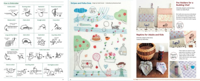 Inside 501 Enchanting Embroidery Designs by Tuttle Publishing