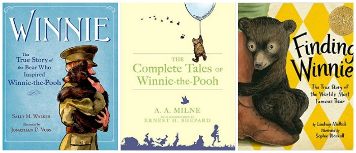 Winnie the Pooh books at Castle View Academy homeschool