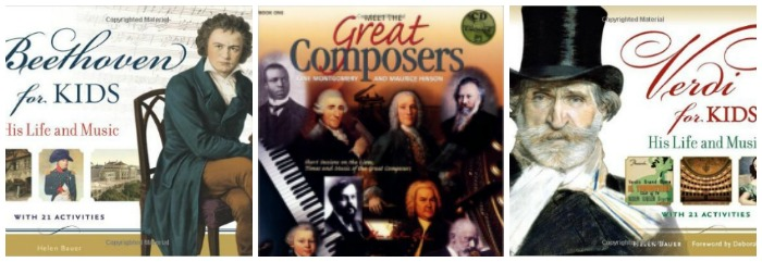 Books About Classical Composers For Kids at Castle View Academy homeschool