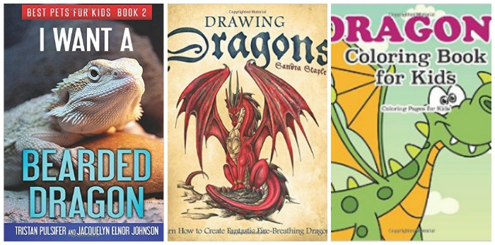 Books about dragons for kids at Castle View Academy.com