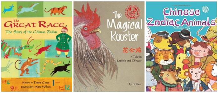 Books for year of the rooster at Castle View Academy homeschool