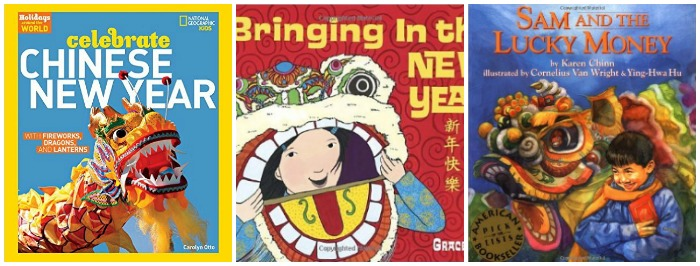 Books to celebrate Chinese New Year at Castle View Academy homeschool