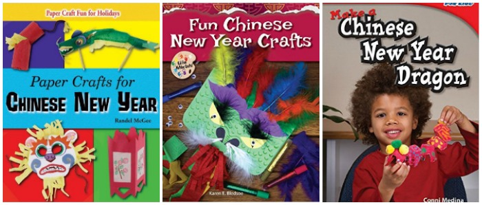 Chinese New Year Craft books for kids at Castle View Academy homeschool