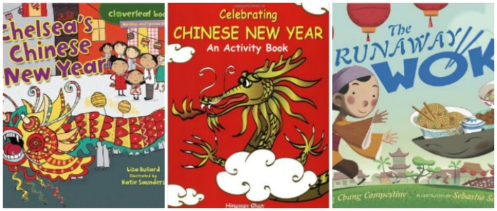 Chinese New Year books for kids at Castle View Academy homeschool