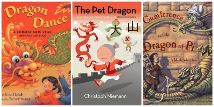 Fun dragon books for kids, Chinese New Year at Castle View Academy homeschool