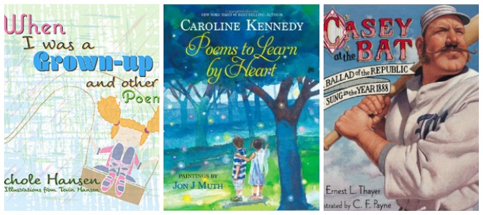 Great poetry for kids at Castle View Academy homeschool