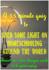 Homeschooling Quiz