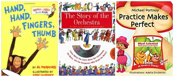 Kids' Books About Music at Castle View Academy homeschool
