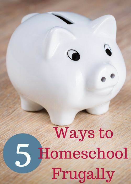 Leah Courtney ~ 5 Ways to Homeschool Frugally