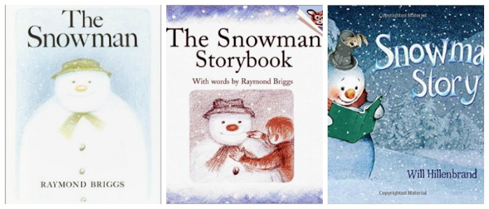 Snowman books for kids at Castle View Academy homeschool